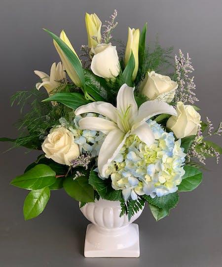 Vase and Modern Arrangements