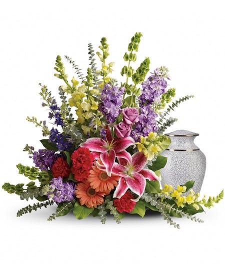 Urn & Memorial Flowers